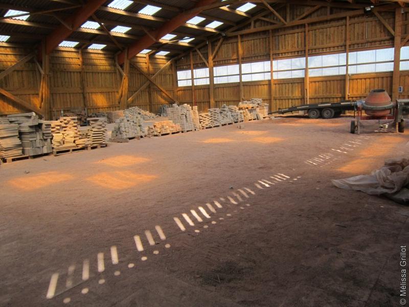 hangar technique lycée